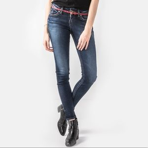 """3 for $18! Silver """"Suki"""" Mid Rise Skinny Jeans"""